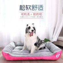 Зимняя одежда для собак кровать диван Водонепроницаемый флис коврик для кошки диван для отдыха подушки подстилка для домашних животных, товары для животных