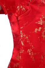 Short Sleeve Traditional Chinese Qipao Dress