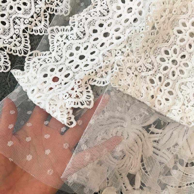 NiceMix 2019 nowa letnia spódnica elegancki kwiatowy koronki plisowana spódnica jednolity kolor kobiet wysokiej spódniczka z wysokim stanem podzielone spódnice Saia Longa