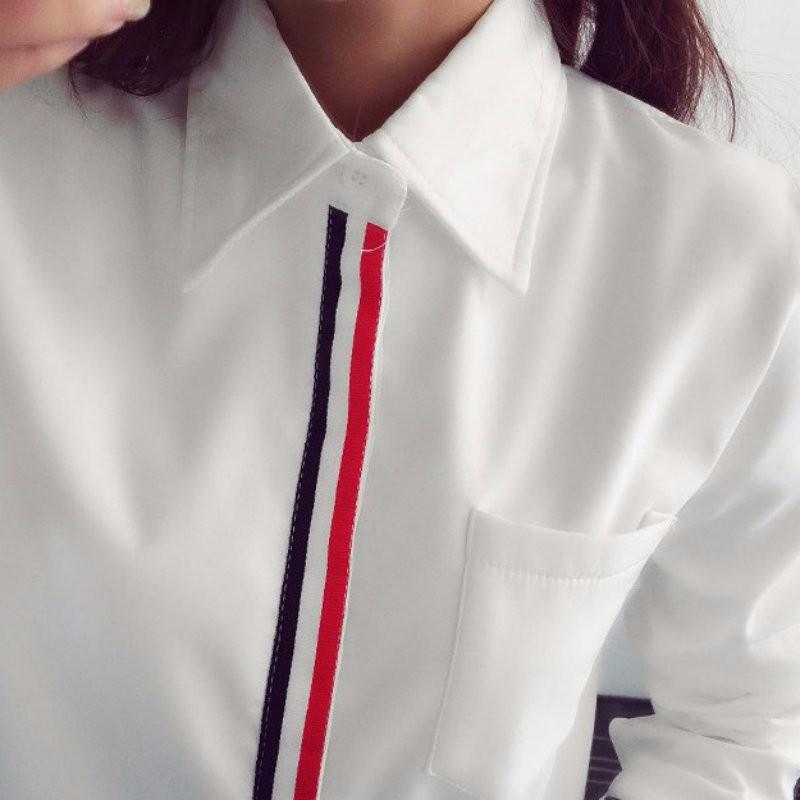 HTB1VkbpNXXXXXXXXpXXq6xXFXXXv - Women Shirt Chiffon Blusas Femininas Tops Elegant Ladies Formal Office