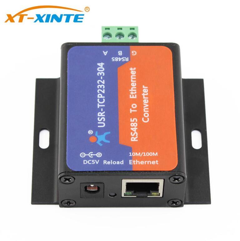 USR-TCP232-304 RS485 szeregowy do konwerter Ethernet RS 485 do tcp/ip Ethernet serwera moduł konwertera wsparcie DHCP/DNS