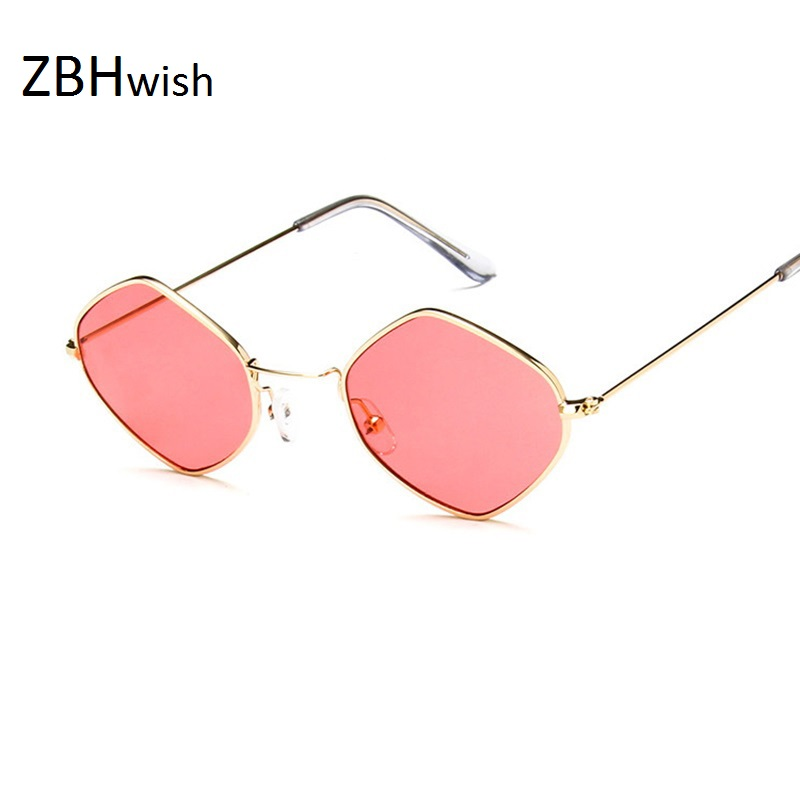 ZBHwish Fashion Hot Sale Occhiali da sole Donna Retro Styles Occhiali da sole Specchietti da sole Occhiali da sole da donna in oro rosa Uv400