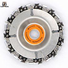 4 Inch Grinder Disc and Chain 22 Tooth Fine Cut Set For 100/115 Angle Woodworking carving Grinding cutting