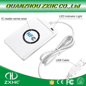 Image 4 - ACR122U USB NFC kart okuyucu Yazar ISO14443 Protokolü S50 Ntag213 Ntag215 Ntag216