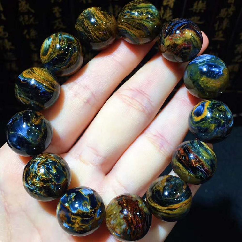 Bijoux en pierre naturelle bleue Pitt bijoux en perles de pierre