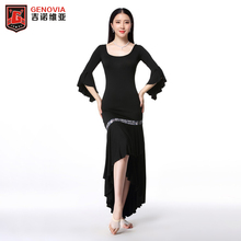 New Arrivals Sexy Women Belly Dance Costumes Performance Club Stage Modal Long Maxi Dress