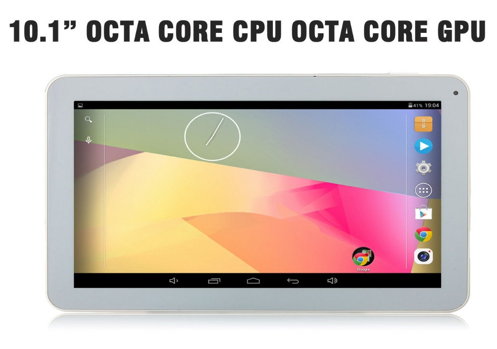 Free Shipping 10 inch 10.1 Android 4.4.2 Tablet PC Octa Core Capacitive A83T 16GB/1GB Dual Camera HDMI Bluetooth Android 5.1 OS