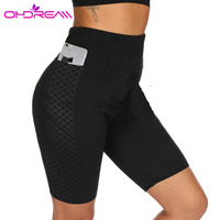 OHDREAM Women Quick Drying High Elasticity Fitness Yoga Trousers Outdoor Professional Running Pants Gym Sport Legging Pants G