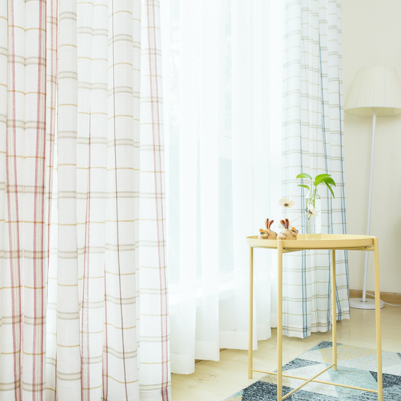 44 Blue Curtain Designs Living Room Sheer Curtain Ideas: White Sheer Curtains For Bedroom Modern Plaid Blue Tulle