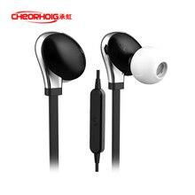 Nueva original cheorhoig binaural auriculares Bluetooth 4.1 Estéreo con cable de reducción de ruido para xiaomi teléfono móvil Bluetooth