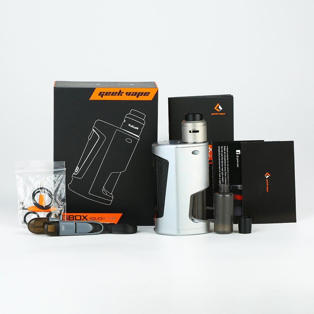 D'origine GeekVape GBOX Squonker 200 W TC Kit avec Radar RDA 8 ml Squonk bouteille COMME chipset Pas de Batterie E cigarette - 5
