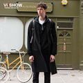 VIISHOW Trench Coat Men Long Trench Coat Men Single Breasted Pea Coats New Fashion Casual British Style Overcoat Trenchs Jackets