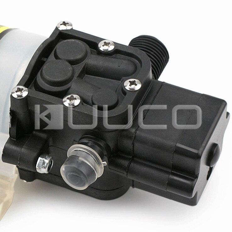 Pompe à diaphragme 60W DC 12V 5A pompe auto-amorçante Micro diaphragme électrique commutateur automatique pompe à eau haute pression - 3