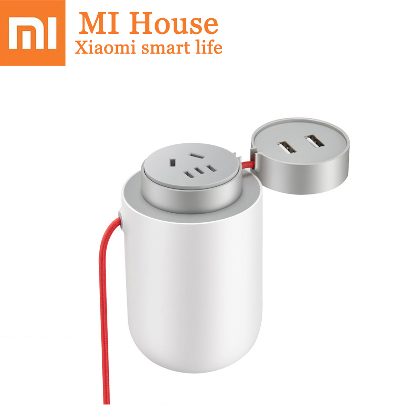 Xiaomi Mijia Portable Car Power Inverter Converter 12V To 220V Power Converter Car Socket Charger Usb Fast Charging xiaomi car charger