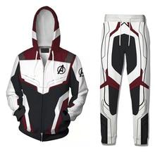 Quantum Realm Hoodies Coat Casual Pants Superhero