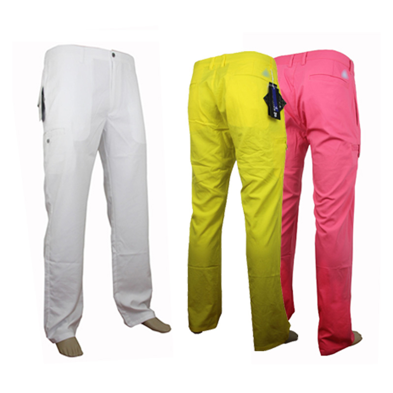 2016Golf font b clothing b font men golf pants quick dry colorful golf trousers top brands