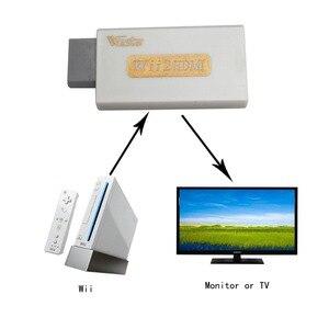 Image 3 - Wiistar Wii zu HDMI Wii2HDMI Adapter Konverter Volle HD 1080 P Ausgang Upscaling 3,5mm Audio Video Ausgang Weiß Heißer verkauf
