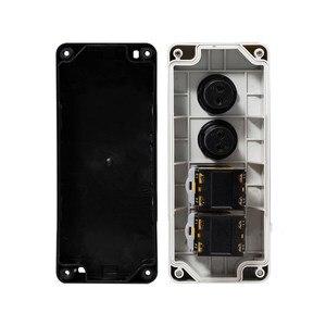 Image 4 - 버튼 스위치 제어 상자 플라스틱 휴대용 자체 시작 버튼 방수 상자 전기 산업 비상 정지 스위치 i