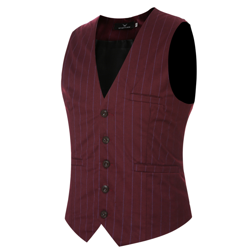 2017 New Arrival Dress Vests For Men Slim Fit Mens Suit Vest Male Waistcoat Gilet Homme Casual Sleeveless Formal Business vests