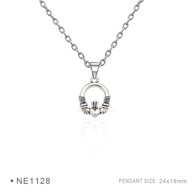 10 Pcslot Ireland Claddagh A Symbol Of Love Pendant Necklaces