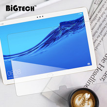 BiGTECH Screen Protector for Huawei Mediapad M3 M5 Lite T5 10.1 8.0 inch Safety Glass HD Tempered Glass for Huawei M5 Pro 10.8(China)