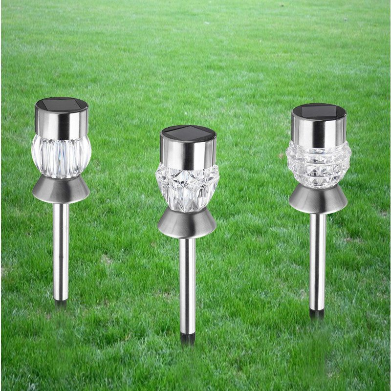 2pcs Diamond/Pumpkin/ Pineapple RGB Solar Powered Lawn Light Outdoor LED Garden Light Solar Light Pathway Landscape Yard Lamp