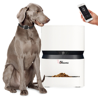 High Quality 8L Pet Feeder Wifi Remote Control Automatic Pet Feeder Food Dispenser For Dogs Cat Programmable Portion Food Bowl