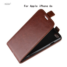 HUDOSSEN For Apple iPhone 6s Plus Case Luxury PU Leather Back Cover Coque For iPhone 6 Plus i6 Case Flip Protective Phone Bag недорого