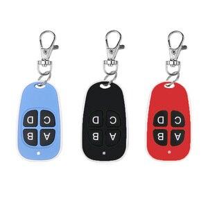 Image 5 - Kebidu 4 bouton porte ouvre porte de Garage télécommande 433MHZ Code roulant haute sensibilité large gamme efficacité
