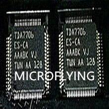 MICROFLING 1 pièces TDA7706ES CA TDA7706ES TDA7706 QFP64 IC