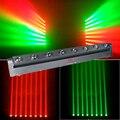 RGBW 8x12 W LED cabeza móvil haz de luz DMX512 cabeza móvil haz de luz para fiesta de discoteca DJ escenario para eventos de discoteca
