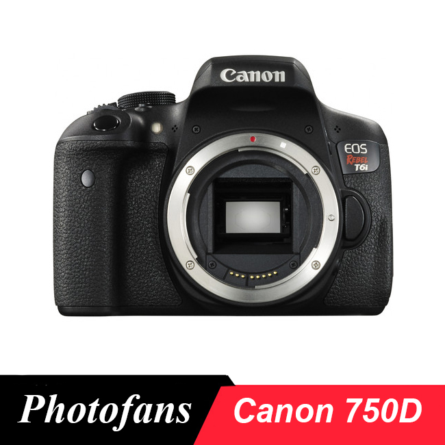 Us 529 0 Canon 750d Rebel T6i Dslr Camera 24 2mp 3 0