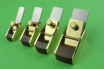 4pcs Flat bottom brass wrap bakelite plate planes ,Violin Carpentry making tool
