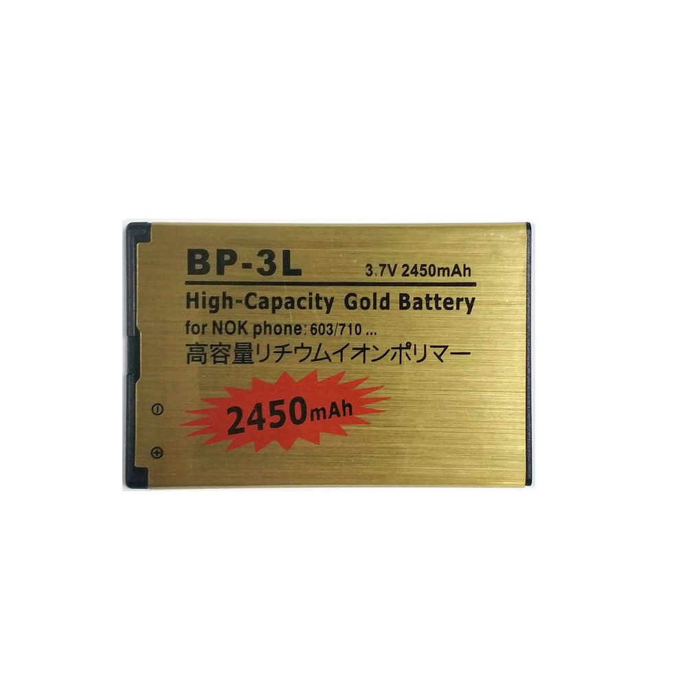 431b145a576 New 2450mAh BP-3L BP3L Gold Battery For NOKIA Lumia 710 610 303 3030 510  603 610C Phone. US 3.68 $. Da Da Xiong 2800mAh ...