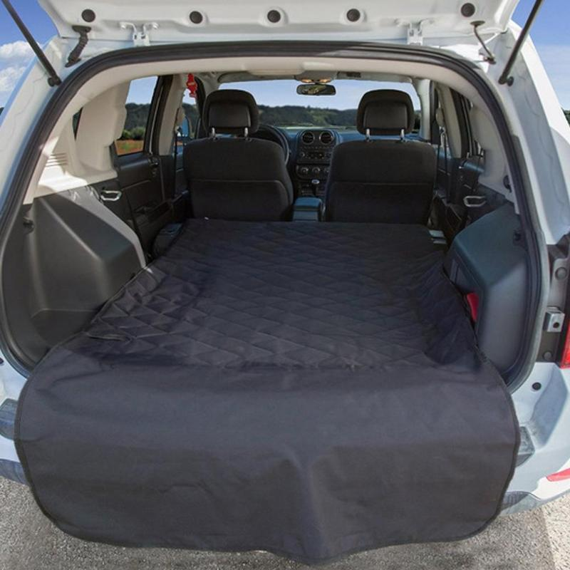 Pet Dog Cat Car Vehicles Rear Back Seat Cover Blanket Waterproof Dog Car Trunk Cushion Protective Mat Auto Accessories seat cover waterproof oxford dog auto car blanket trunk mat back seat cover cushion pet vehicle nonslip folding seat cover