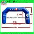 Сделано в китае марафон шар арки/надувные арки, дешевые надувные арки для продажи