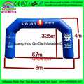Hecho en china maratón globo arco/arco inflable, arco inflable para la venta barata