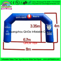 Made in china marathon balloon arch/inflatable arch,cheap inflatable arch for sale