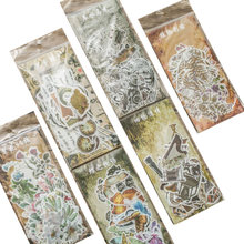 10 упаковок/партия милый набор наклеек на этикетки серии «Прошедшее