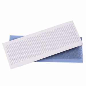 Image 4 - 24x9cm Hair Holder Drawing Mat for bulk hair extension tools Hair Drawing Mat Hair Extensions Drawing Card(Skin Pad) With Needle