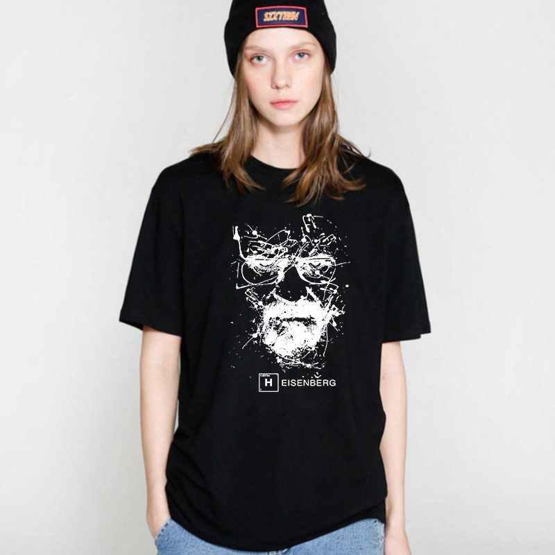 COOLMIND BR0111B 100% cotone Breaking Bad Maglietta Femminile delle Donne di Estate Divertente T Delle Donne Della Camicia heisenberg Donne Magliette e camicette tee shirts