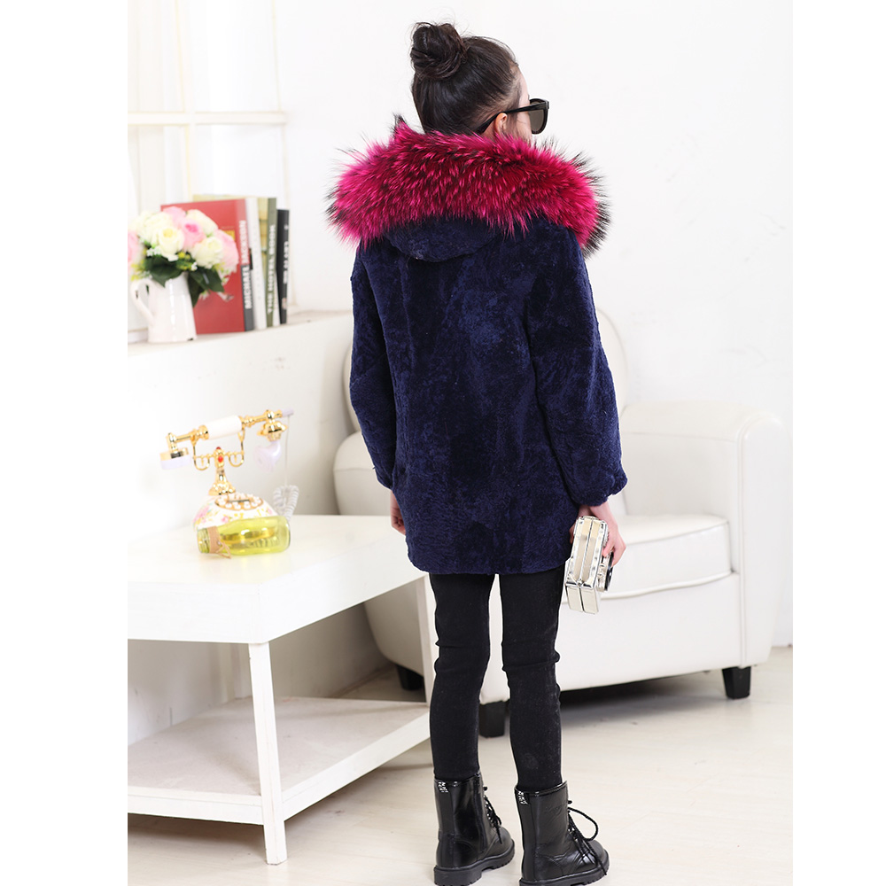 Aliexpress.com : Buy 2017Children Real Sheepskin Fur Coats Autumn ...