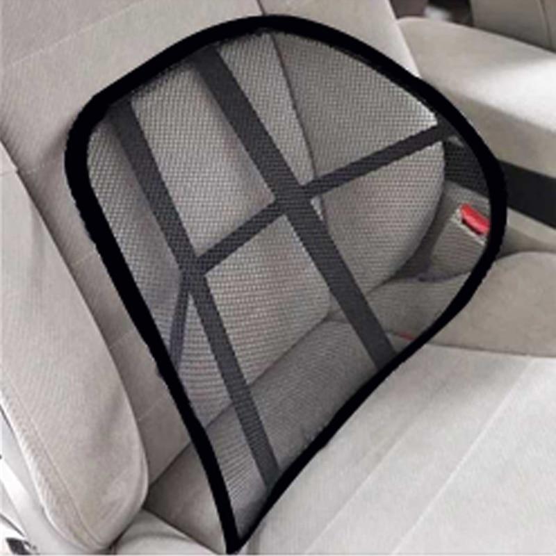Car Office Seat Chair Massage Back Lumbar Support Mesh Ventilate Cushion Pad