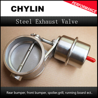 Stainless Steel Exhaust Control Valve Set Boost Actuator CLOSED Style 76mm Pipe Pressure: about 1 BAR CUT76 CL BOOST