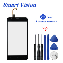 For Original Oukitel U7 MAX Touch Panel Perfect Repair Parts +Tools U7MAX 5.5 Inch Glass Panel Touch Screen Digitizer stock