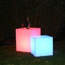Christmas Deco IP65 D10cm led party decors led samll cube free shipping 10pcs/Lot