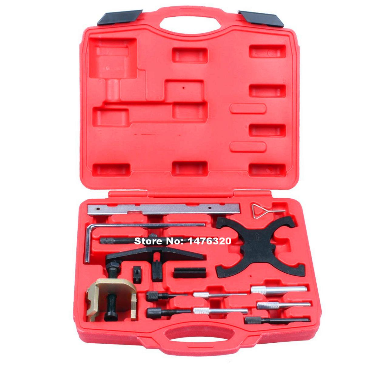 Car Engine Timing Crankshaft Locking Alignment Tool Set For Ford 1.4/1.6/1.8/2.0/2.2 AT2076