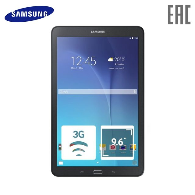 "Планшет Samsung Galaxy Tab E SM-T561 9.6"" 3G"