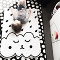 2017 Hot Sale 138*96cm Baby Play Mats Children Developing Crawling Rug Carpet For Kids Toys Gifts