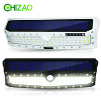 CHIZAO Solar Lights Outdoor lighting Motion sensor Night security wall lamp 79 LED Waterproof Energy saving Garden Yard Gate
